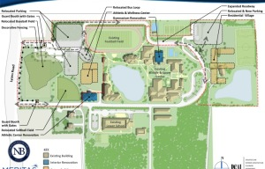 New Campus Master Plan Brings Great Changes to NB