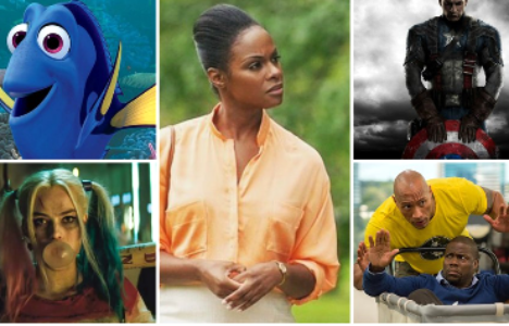 MUST-SEE MOVIES OF SUMMER 2016