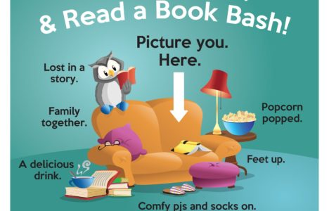 Stay At Home and Read A Book Bash