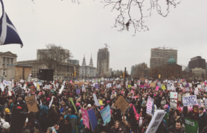 "Women's March 2018: ""We're Not Done"""